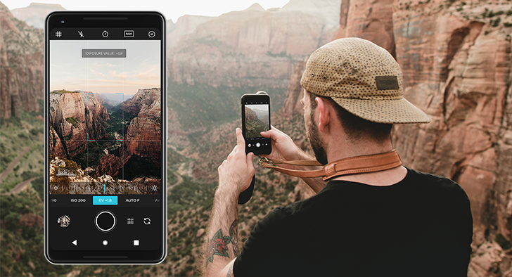 Moment camera app brings advanced camera controls and RAW mode in a lightweight UI