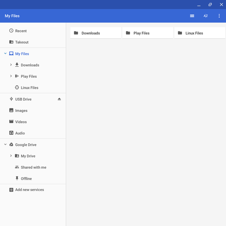Google testing revamped Chrome OS file manager with better organization of local files