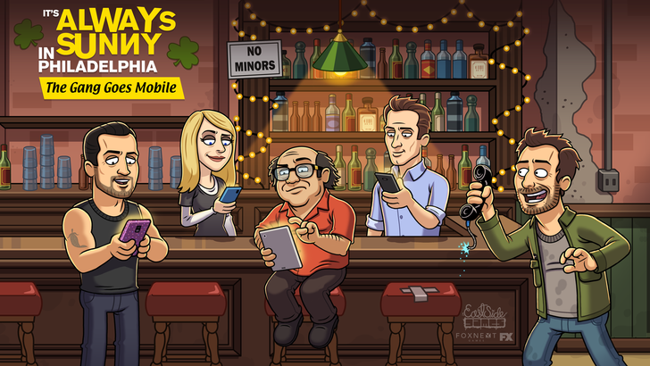 [Update: Out now, and it's awful] The Gang Sells Out: 'It's Always Sunny in Philadelphia' is getting a mobile game