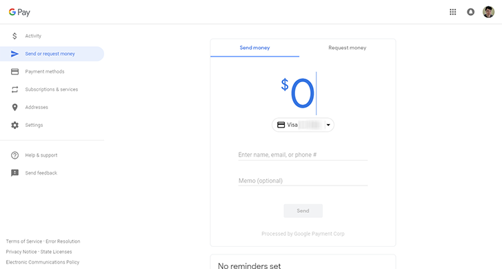 Google Pay web app redesign now rolling out