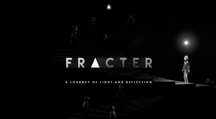 Monochromatic puzzler 'FRACTER' is available a day early