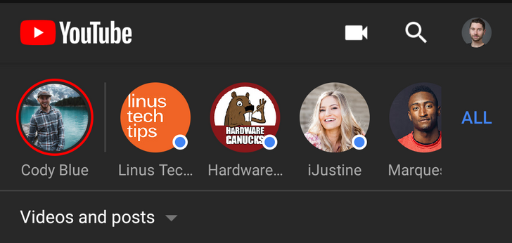 YouTube dark theme now available for some on Android