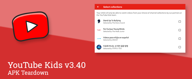 YouTube Kids v3.40 prepares parental controls for specific channels and videos [APK Teardown]