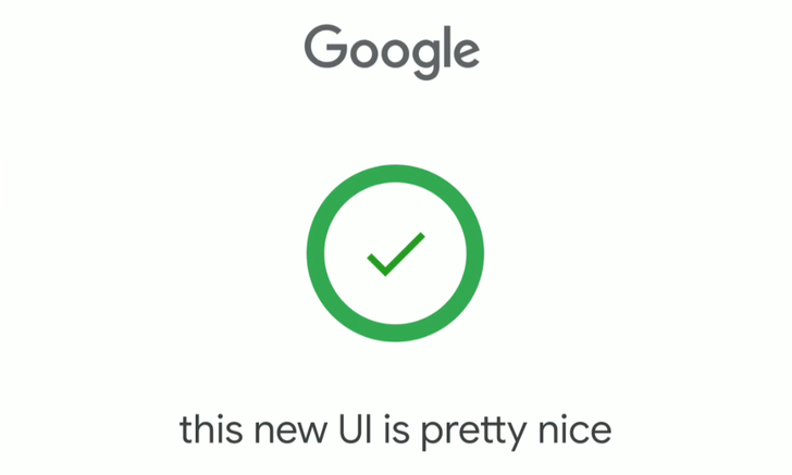 Google's speech input UI is getting a Material makeover