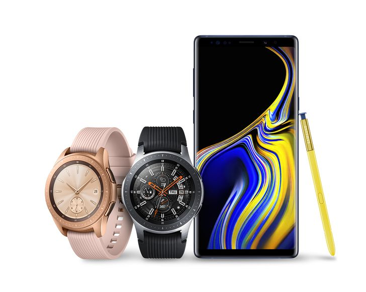 The Galaxy Note 9 and Galaxy Watch officially launch today