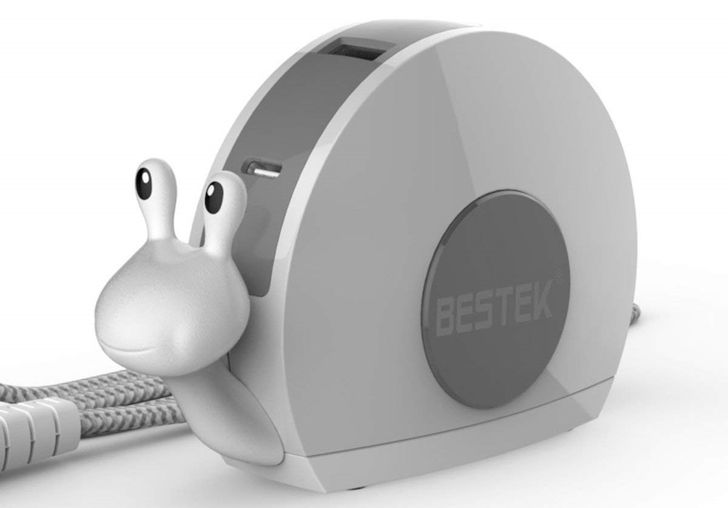 [Update: Winners] We're giving away 40 BESTEK 'Snail USB Chargers,' plus 40% off coupons for everyone else [US]