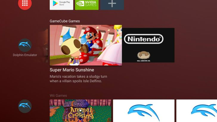 Dolphin emulator improves Vulkan compatibility, adds Android TV channels for games, and more