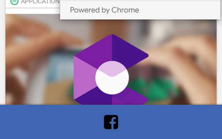 Facebook app transitioning to Chrome Custom Tabs from external link opening