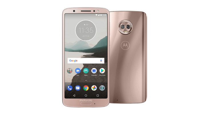 Moto G6 on Project Fi now available in 'blush' color