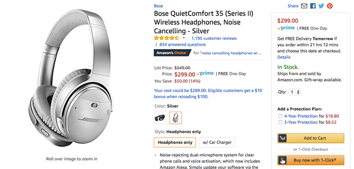 [Deal Alert] Bose QC35 II with Assistant down to $299 ($50 off) at multiple retailers