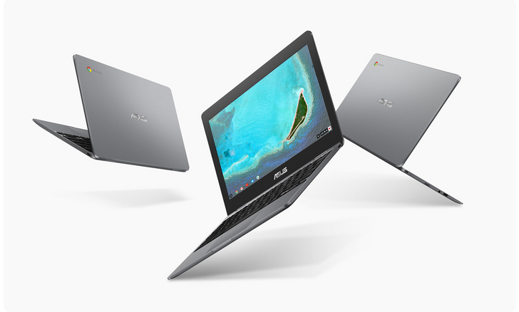 ASUS makes the Chromebook 12 C223 official with a Celeron N3350 and 4GB of RAM
