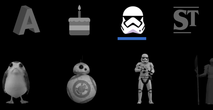 AR Stickers v1.3 reduces app size by 86% by making Star Wars and Stranger Things packs optional [APK Download]