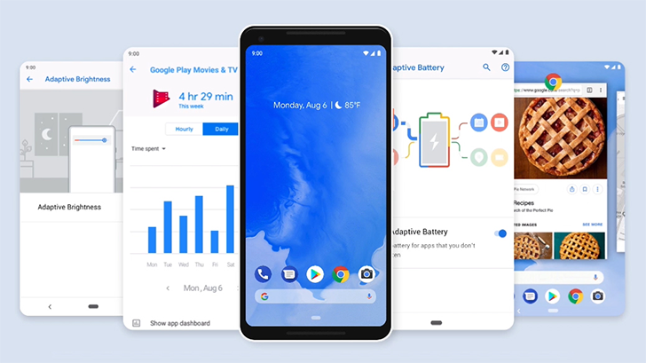[Update: Security bulletins] Android 9 Pie system images and OTA files are available for download