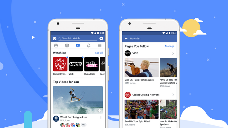 Facebook Watch, the company's YouTube competitor, gets released globally