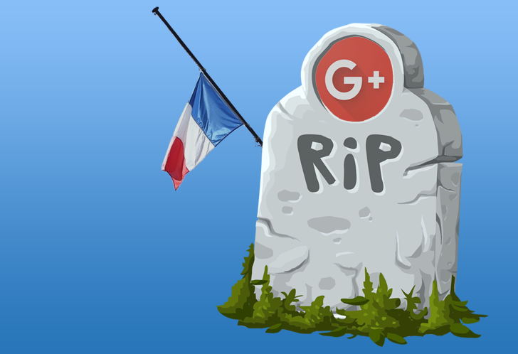 Google France shuts down its Google+ page, asks users to follow it on Twitter and Facebook instead