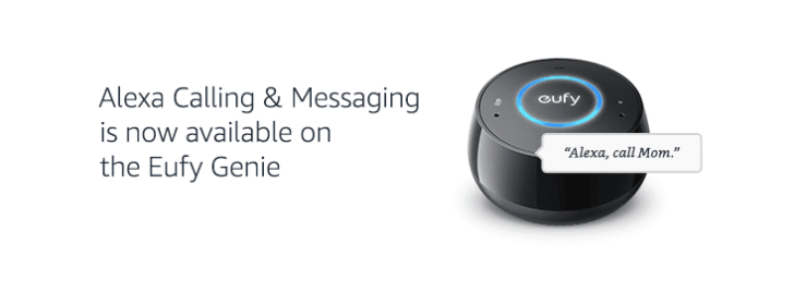 Eufy Genie catches up to Amazon Echos with new calling and messaging abilities