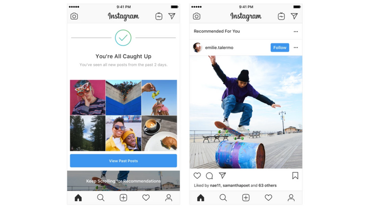 Instagram is adding random people's posts to your Feed again
