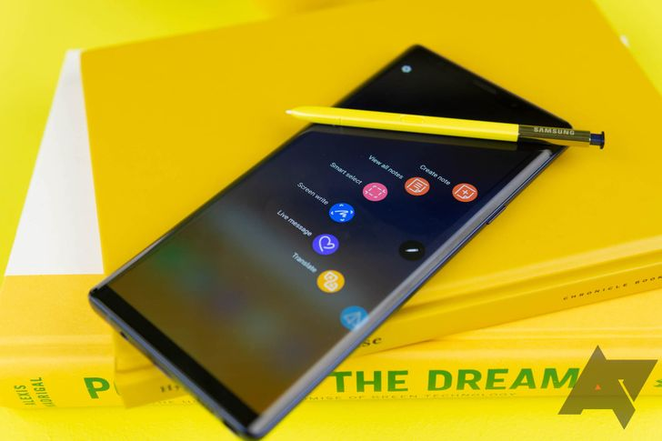 Galaxy Note9 is official: Bigger battery, powered S Pen, and Fortnite for $1,000