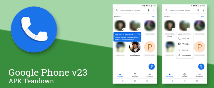 Google is working on a new Favorites tab for the Phone app [APK