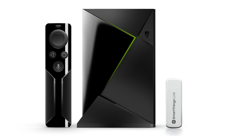 NVIDIA Shield TV Smart Home Edition comes with a SmartThings Link hub for $219.99 ($1 more than if bought separately)