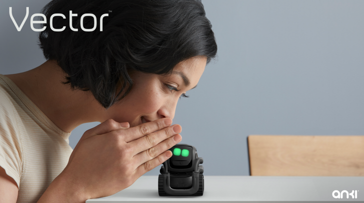 Anki's adorable new toy robot Vector is available for pre-order now
