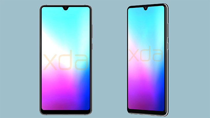 Renders reveal Huawei Mate 20 with triple rear cameras and Essential Phone-like notch