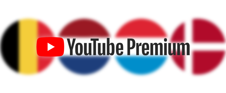 YouTube Premium and Music Premium are now available in The Netherlands, Belgium, Denmark, and Luxembourg