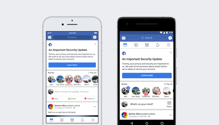 Facebook security flaw hits at least 50 million accounts