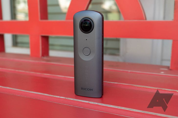 Ricoh Theta V 4K 360-degree camera drops to $350 ($81 off) on Amazon