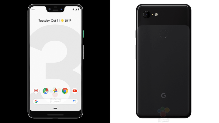 Here are even more leaked images of the Pixel 3 and Pixel 3 XL