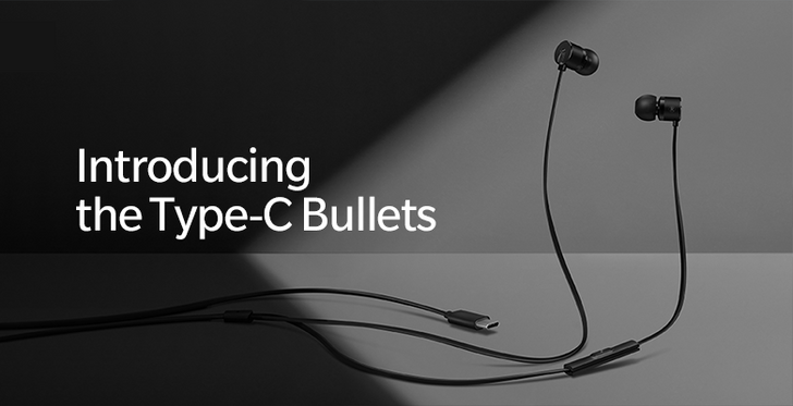 OnePlus announces wired Type-C Bullets earbuds