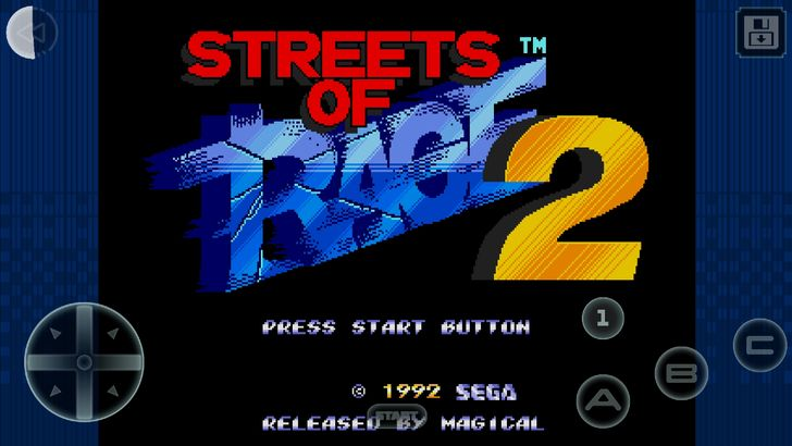 Streets of Rage 2 Classic is the latest SEGA Forever title on the Play Store
