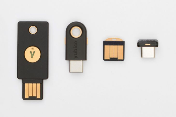 Yubico launches new YubiKey 5 Series 2FA keys, supports passwordless FIDO2 and NFC