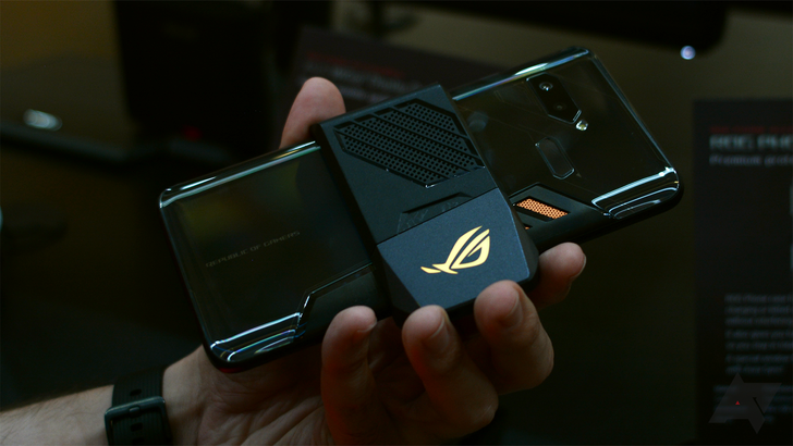 Hands-on with the Asus ROG Phone: It's actually kind of cool