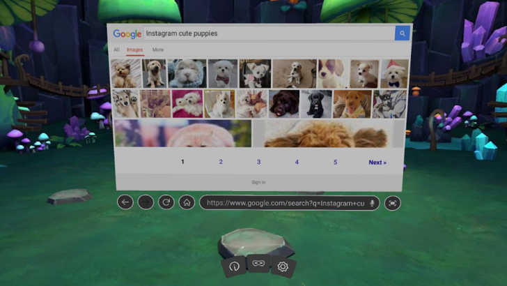 Firefox's VR web browser now has 360-degree video playback, bookmarks, and more