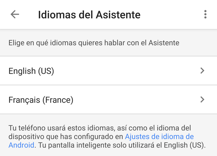 Tip: Google Assistant is trilingual (and more), but only on phones