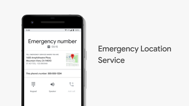 Android phones in the US can now provide accurate location data directly to emergency services