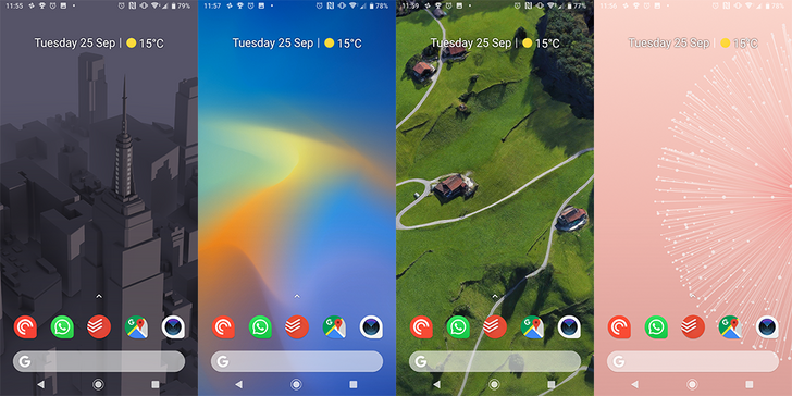 [Update: Showing in Always On Display too] Pixel 3 live wallpapers are available to download and they're beautiful