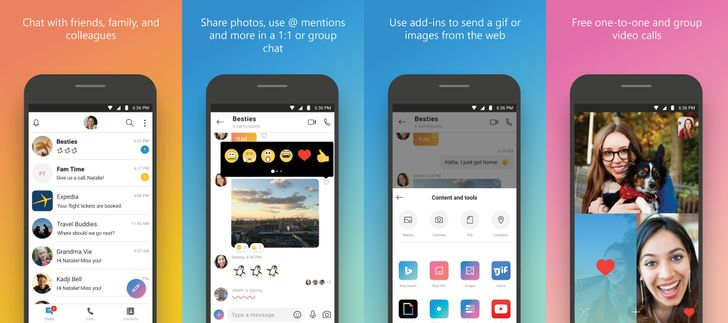 Skype v8.29 ditches Snapchat-like 'Highlights' and has a simplified UI