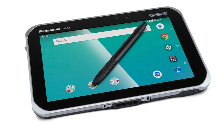 Just look at how stylish all the style is on this stylish Panasonic tablet