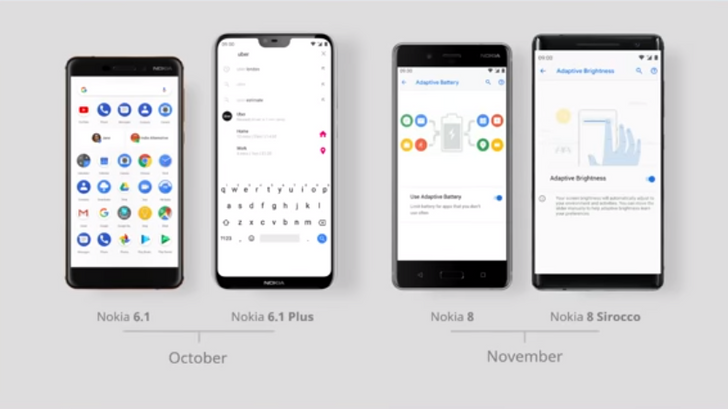 Nokia will start rolling out Android Pie updates this month