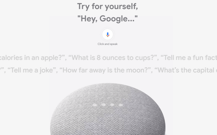 Google added a live Assistant demo to the Google Store