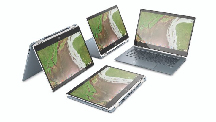 HP Chromebook x360 14 is a premium convertible costing $599