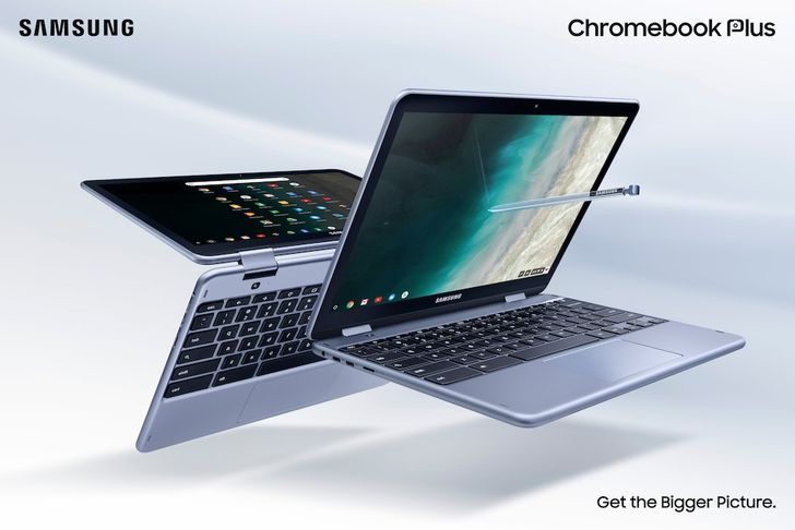 [Update: Now available] Samsung reveals new LTE-equipped Chromebook Plus V2