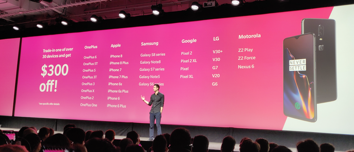 [Update: Expires today] T-Mobile offers $300 trade-in credit towards OnePlus 6T with 33 phones, including every OnePlus phone