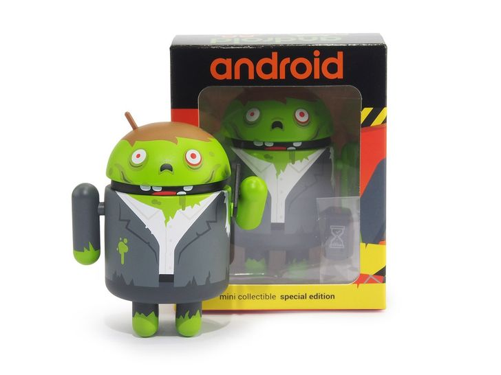 [Boooooooooo-gdroid] Dead Zebra celebrates Halloween with Zombie Process Android Mini
