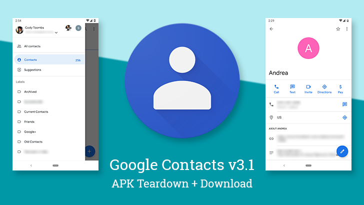 Google Contacts v3.1 comes with more visual updates and prepares option to erase interaction data [APK Teardown]