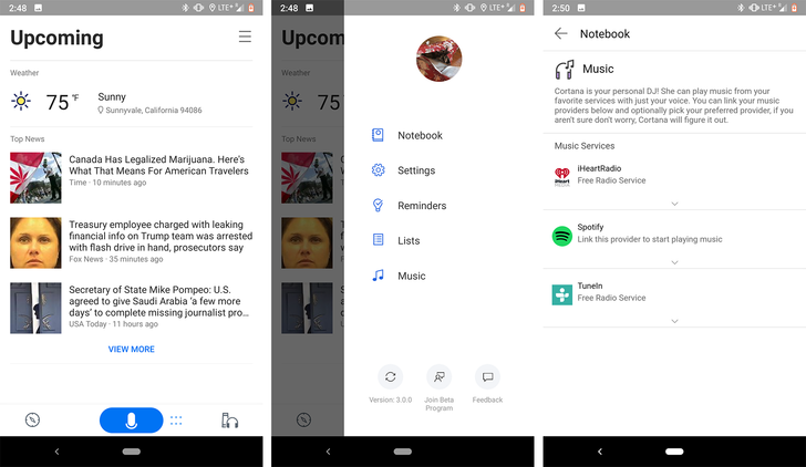 [Update: Out of beta] Cortana v3.0 has a sleek new design and improved conversational experiences