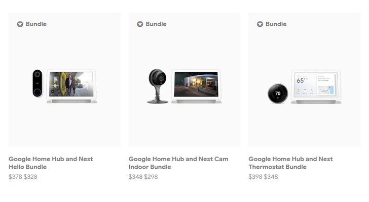 Google now offers smart home product bundles at a discount