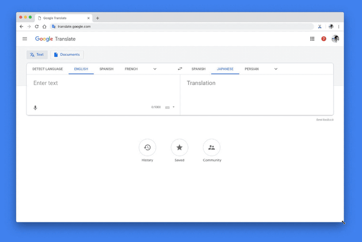 [Update: Official] Google Translate web is getting a Material Design makeover